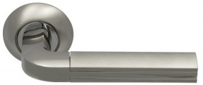 Ручка Archie SILLUR 96 S.Chrome/P.Crome Хром матовый/Хром