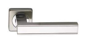 Ручка Archie SILLUR С159 S.Chrome/P.Crome Хром матовый/Хром