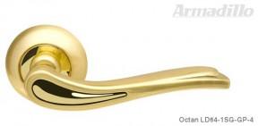 Ручка Armadillo Octan LD SG/GP матовое золото/золото