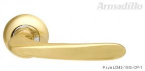 Ручка Armadillo Pava LD SG/CP матовое золото/хром