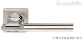 Ручка Armadillo Trinity SQ SN/CP матовый никель/хром