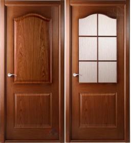 Дверь Капричеза орех с раскладкой