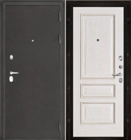 Дверь Колизей Вена белая патина шпон