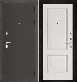 Дверь Колизей Шервуд белая патина шпон