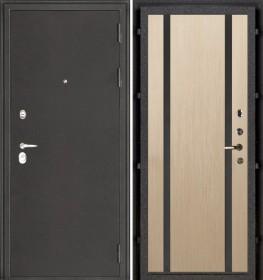 Дверь Колизей Техно 2 беленый дуб пвх
