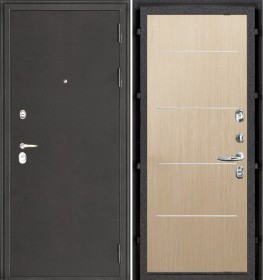 Дверь Колизей Лайт MD-003 беленый дуб пвх