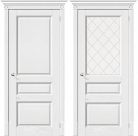 Дверь Леонардо белый зефир (Т-17)