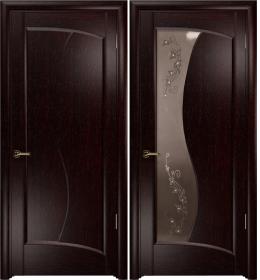 Дверь Смеральда венге