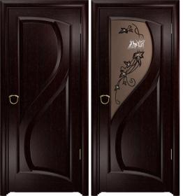 Дверь Скорциа венге тонированное