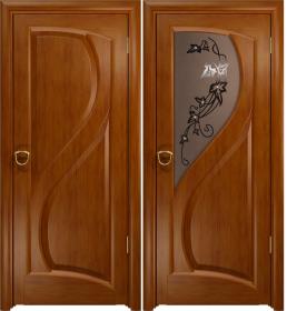 Дверь Скорциа темный анегри тонированное
