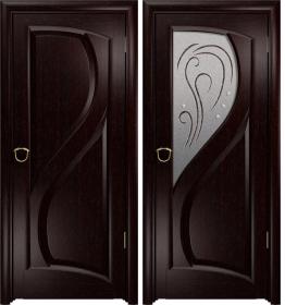 Дверь Скорциа венге белое
