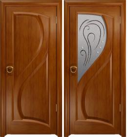 Дверь Скорциа темный анегри белое