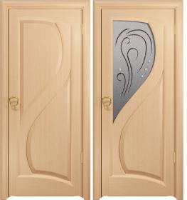 Дверь Скорциа беленый дуб белое
