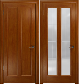 Дверь Эсиль 2 темный анегри гравировка