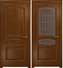 Дверь Оливия итальянский орех