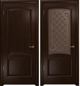 Дверь Парма махагон
