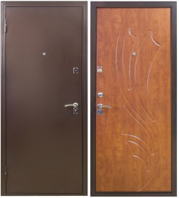 Дверь Патриот 181/85 итальянский орех