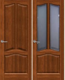 Дверь Неаполь светлый орех