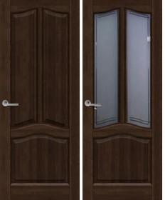 Дверь Неаполь темный орех