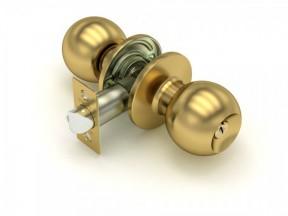 Ручка-шар 6072 SB Матовое золото