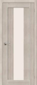 Дверь Порта 25 alu Cappuccino Veralinga MF