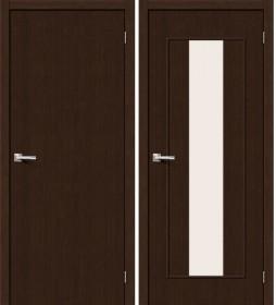Дверь Тренд-25 3D Wenge