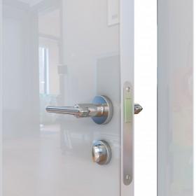 Дверь Модерн ДГ-500 белый глянец