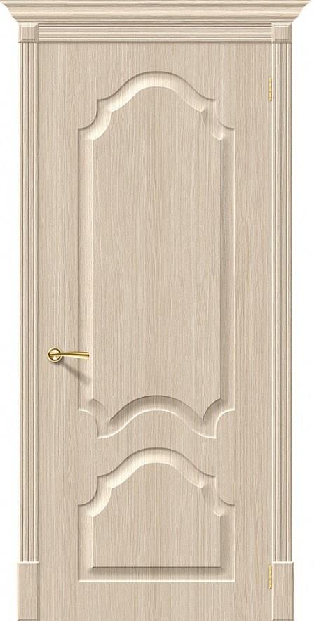 Межкомнатная дверь с ПВХ-пленкой Скинни-32 Беленый дуб (П-30)
