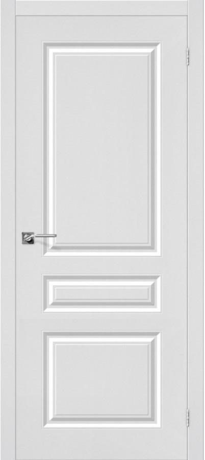 Межкомнатная дверь с ПВХ-пленкой Скинни-14 белый (П-23)