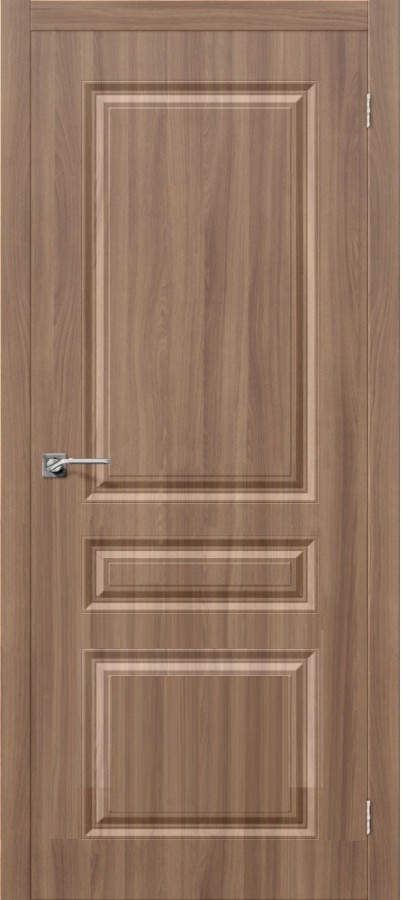 Межкомнатная дверь с ПВХ-пленкой Скинни-14 Шимо темный (П-35)