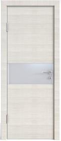 Дверь Модерн ДО-501 ива светлая (стекло белое)