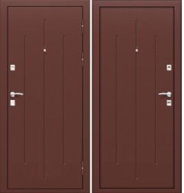 Дверь Стройгост 7-2 Металл/Металл (Китай)