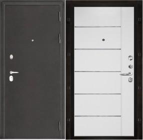 Дверь Колизей Лайт MD-002 белый ясень пвх
