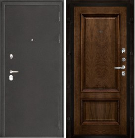 Дверь Колизей Корсика дуб brandy шпон