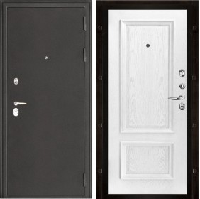 Дверь Колизей Корсика дуб perla шпон