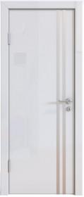 Дверь Модерн ДГ-506 белый глянец