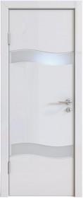Дверь Модерн ДО-503 белый глянец (стекло белое)