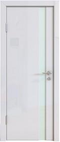 Дверь Модерн ДО-507 белый глянец (стекло белое)