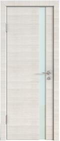 Дверь Модерн ДО-507 ива светлая (стекло белое)