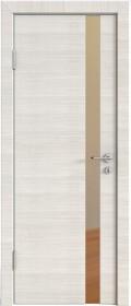 Дверь Модерн ДО-507 ива светлая (зеркало бронза)