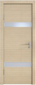 Дверь Модерн ДО-502 неаполь (стекло белое)
