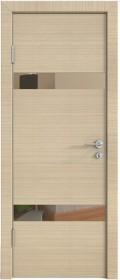 Дверь Модерн ДО-502 неаполь (зеркало бронза)