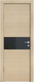Дверь Модерн ДО-501 неаполь (стекло черное)