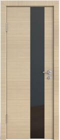 Дверь Модерн ДО-504 неаполь (стекло черное)