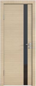 Дверь Модерн ДО-507 неаполь (стекло черное)