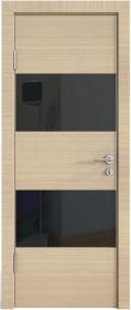 Дверь Модерн ДО-508 неаполь (стекло черное)