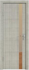 Дверь Модерн ДО-507 дуб серый (зеркало бронза)