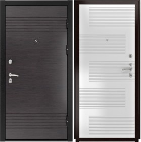 Дверь Luxor 7 185 ясень белый ПВХ