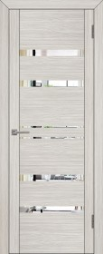 Дверь Uberture 30030 капучино велюр (зеркало)