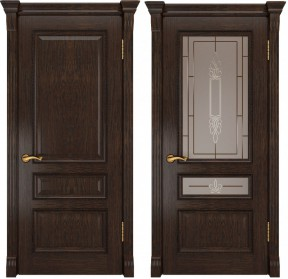Дверь Фемида-2 Lux мореный дуб